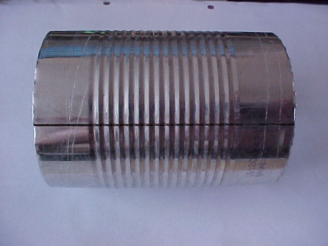 Weld line on can